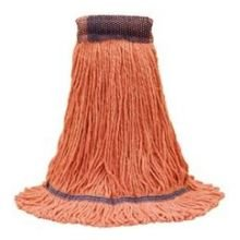 O Cedar Healthi Pro Anti Microbial Orange Extra Large Loop End Mop -- 6 per case. by O Cedar