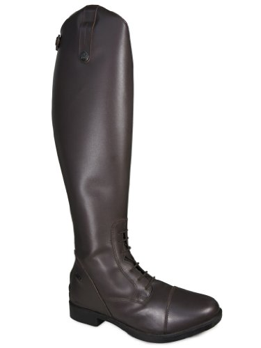 Dressage 3 Brown Riding Jodhpur Showing Jumping Boot Adults Leather Long 10 Tall Size HOcf1WAW