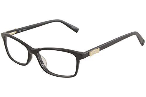 Furla Eyeglasses Scilla VU4840S VU/4840/S 0700 Shiny Black Optical Frame 53mm