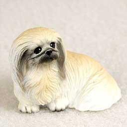 Pekingese Miniature Dog Figurine