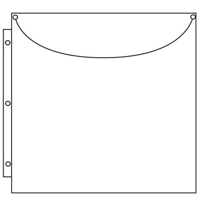 - Totally-Tiffany SRSP-P40 Scrap Rack Basic Storage Page, Super Sized Single, 10-Pack