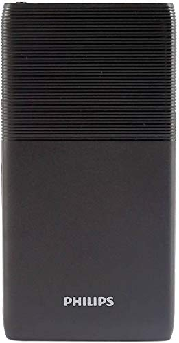 Philips 10000 mAh Power Bank (DLP9001NB, DLP9001NB) (Black, Lithium Polymer)