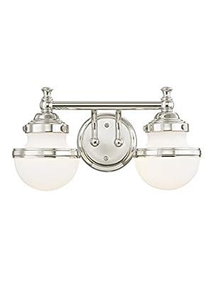 Livex Lighting Oldwick 15 Inch Wide Bath Vanity Light