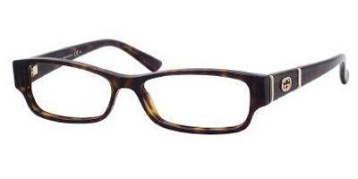 Gucci GG3201 Eyeglasses-0086 Dark Havana-51mm