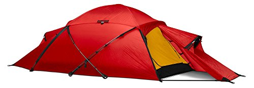 Hilleberg Saivo, Mountaineering Shelter, Red color Tent