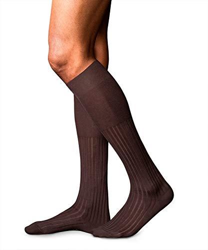 FALKE Herren Kniestrümpfe No. 13 Finest Piuma Cotton - 95% Baumwolle, 1 Paar, Versch. Farben, Größe 39-46 - Luxuriöse Materialien in billanten Farben, Anzugssstrumpf, ideal zum Businesslook
