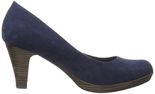 22411 Marco Tacón De Para Azul 805 Tozzi navy Zapatos Mujer 6qx7gawx