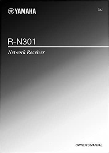 Yamaha R N301 Receiver Owners Instruction Manual Reprint
