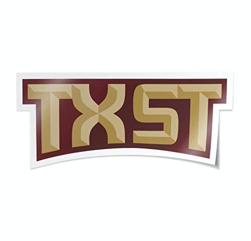 Nudge Printing NCAA University Script Logos Vinyl Car Decal Window Sticker (Texas State University Bobcats)