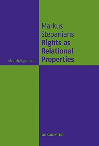 Product picture for Rights as Relational Properties: In Defense of the Classical Beneficiary Theory of Rights (Ideen & Argumente) by Markus Stepanians