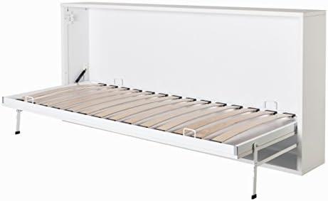 Mueble cama abatible horizontal individual, apertura ...