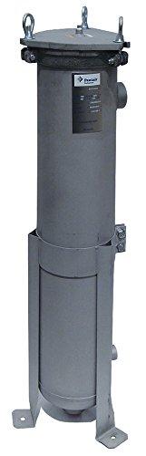 Pentair - 156111-75 - 2 (F) NPT Aluminum Bag Filter Housing, Bottom Outlet, 90 gpm