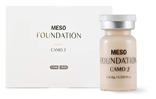 BB Glow Skin Treatment - MTS Meso Ampoule Serum Foundation Camo 2 - For Professional Only - Made in Korea