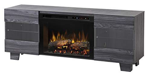 Cheap DIMPLEX Max Media Console Electric Fireplace with Logs Black Friday & Cyber Monday 2019