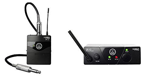 AKG Pro Audio WMS40MINI INSTR-SET BD US25A Wireless Instrument Microphone (Akg Instrument Set)