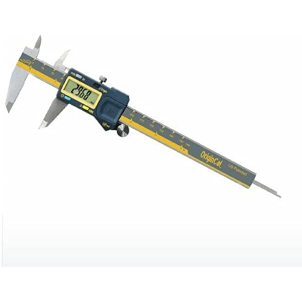 "Tesa Brown /& Sharpe 00599391 6/"" IP67 Valueline Absolute Digital Caliper-Rnd Rod"