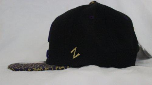 New Alcorn State University Zephyr Black, Purple & Gold Snapback