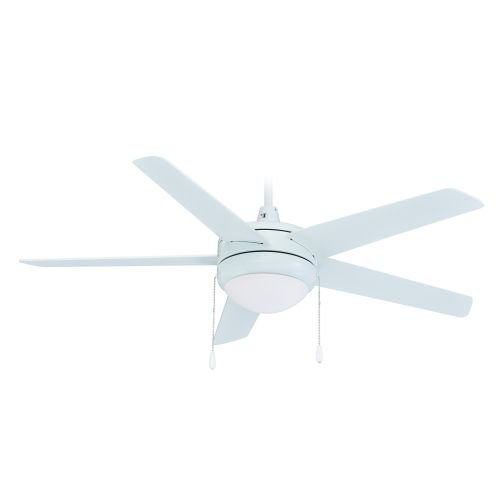 Miseno MFAN-5001LED 50'' Energy Star Indoor Ceiling Fan - Includes 5 MDF Blades,, White by Miseno