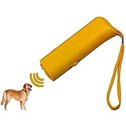 Dog Repeller Repellent Training Device Trainer Dog Anti Barking Stop Bark 3 in 1 Trainer with LED