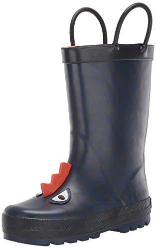 Carters Kids Boys Buddy Rubber Rain Boot