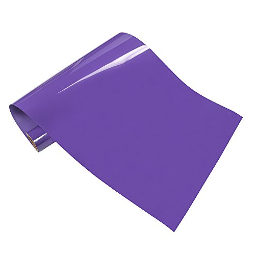 Purple Color Machine (VINYL FROG PU Iron on Heat Transfer Vinyl Roll 10