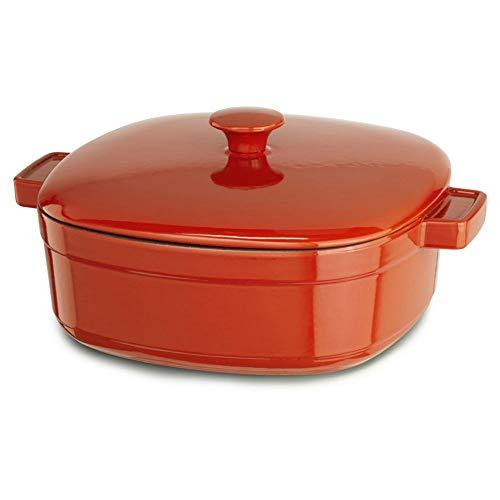 KitchenAid Cast Iron Streamlin Cookware KCLI60CRAU Autumn Gl