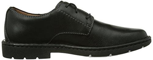 Stratton Leather stringate Black Scarpe 261025 uomo Clarks Way marrone Various Nero qCHwa
