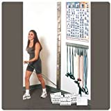 Patterson Medical Web-Slide Exercise Rail Systems Storage Rack
