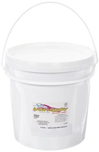 nasco-professional-artist-acrylic-gesso-1-gallon-pail