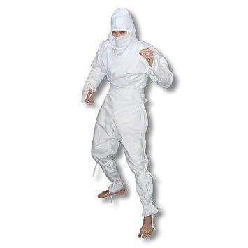 Artes marciales Ninja blanco 100% algodón uniforme - 8/210 ...