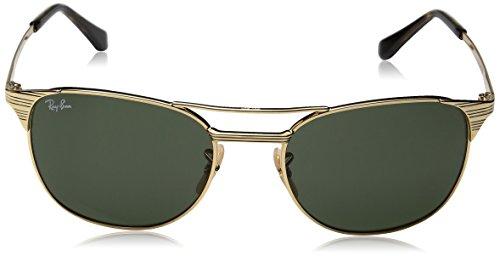 1 Ray Hombre Gold para Ban Sol 55 de 0Rb3429M Gafas px1wBqUEx