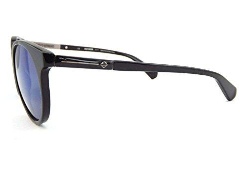 78a41264607f5a Harley Davidson - Lunettes de soleil - Homme noir Polished Black ...