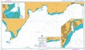 Ba Diagramm 471  Cabo caucedo zu Isla Alto Velo von UNITED KINGDOM Hydrographic Büro