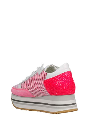 Rosso Model Eildng02 Sneakers Donna Tessuto Philippe n4XqRxR