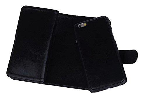 [해외]DRUnKQUEEn 아이폰 6s 플러스 케이스, 아이폰 6 플러스 케이스, 프리미엄 가죽 지갑 휴대 지갑 클러치 커버 자기 분리형 손목 손목 스트랩 칼슘/DRUnKQUEEn iPhone 6s Plus Case, iPh