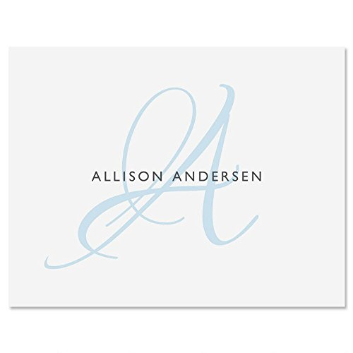 Initial Personalized Note Card Set