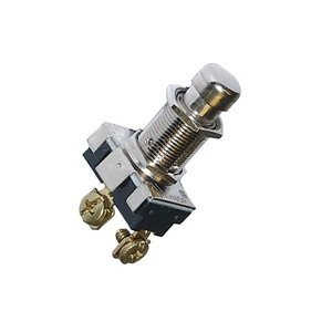 Heavy Duty Utility AC Push Button Momentary Switch - SPST : 30-1426