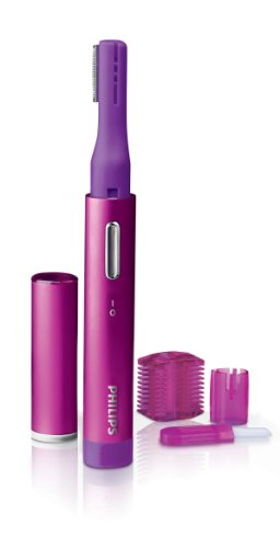 Philips PrecisionPerfect compact Precision Trimmer for Women, Facial Hair Removal & Eyebrows, HP6390/51