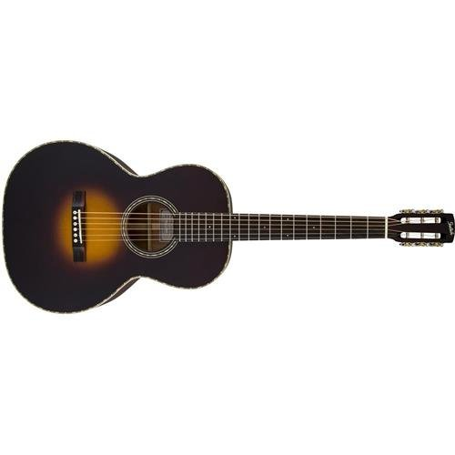 Gretsch Guitars G9521 Style 2 Triple-0 Auditorium Acoustic Guitar Appalachia Cloudburst ()