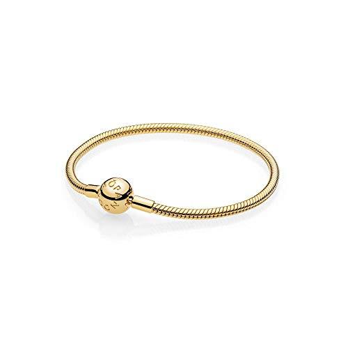 PANDORA Smooth PANDORA Shine Clasp Bracelet (Gold Pandora)