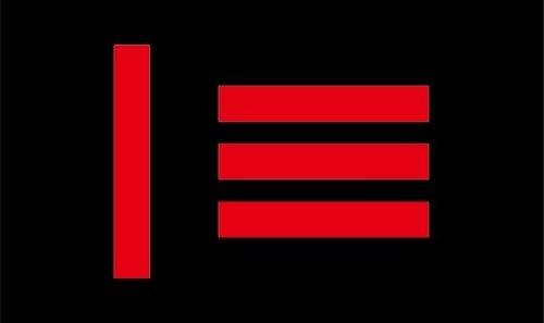 Master Slave Pride Flag - Large 5 x 3' 150cm x 90cm - Gay Pr