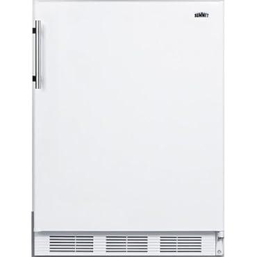 24 in. W 5.5 cu. ft. Freezerless Refrigerator in White (FF61BIADA)