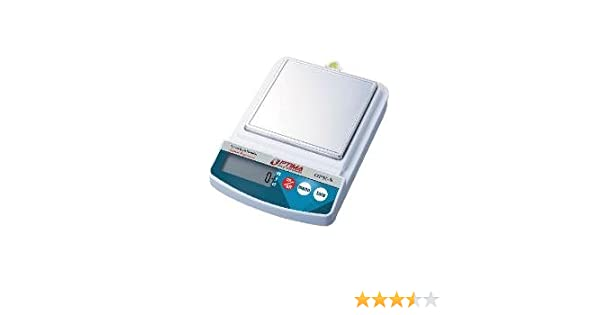 Optima Scales OPK-S500 Compact Digital Precision Scale Balance, 500g x  0 1g, Stainless Steel Pan