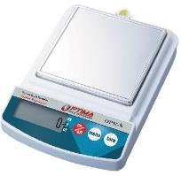 Optima Scales OPK-S500 Compact Digital Precision Scale Balance, 500g x 0.1g, Stainless Steel Pan