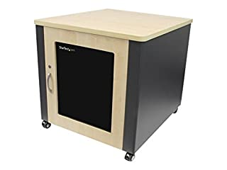 StarTech.com 12U Quiet Wood Network Server Rack Cabinet with Cooling Fans / Wheels - Acoustic Computer Equipment Enclosure (RKQMCAB12) (B00KTHGGCK) | Amazon price tracker / tracking, Amazon price history charts, Amazon price watches, Amazon price drop alerts