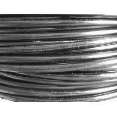 5 M/ètres Fil Aluminium Anthracite 4mm