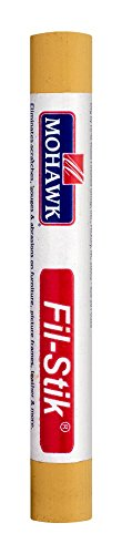 - Mohawk Fill Stick (Fil-Stik) Putty Stick for Wood Repair (Light Golden Oak)- Rub On Semi-Soft Wax Filler Stick