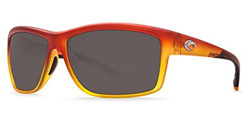 Costa Del Mar Mag Bay Sunglasses, Matte Sunset Fade, Gray 580P - Discount Mar Del Glasses Costa