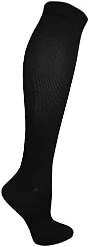 Dr. Scholl's Women's Travel Knee High Socks with Graduated Compression, 1 & 2 Packs