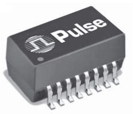 Audio Transformers/Signal Transformers SMD T1/CEPT/ISDN-Pri 1200uH 1Ohm 2-Port, Pack of 10 (PE-68828NL)
